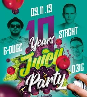 10 Years Juicy Party w/ G-Dugz, Strght & D3!C