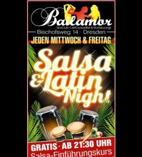 Jeden Freitag ist Salsa & Latin Night