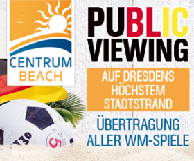 Centrum Beach: Public Viewing @ Centrum Galerie