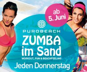 Zumba� Fitness am Purobeach