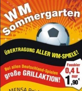 12.6. - 13.7. WM Sommergarten