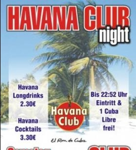 Havana Club Night