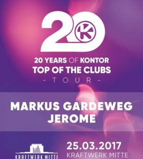 20 Years of Kontor Top of the Clubs Tour | 25.03.