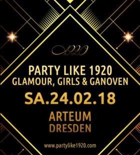 Glamour, Girls & Ganoven - 20er Party