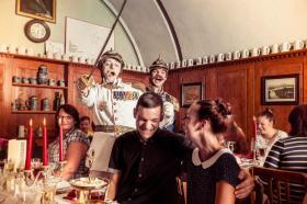 Historische Dinnershow auf der Festung Königstein