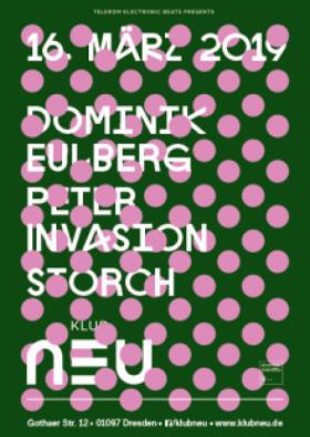 Klub Neu w/ Dominik Eulberg (Telekom Electronic Beats pres.)