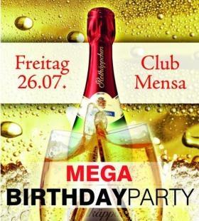 Mega Birthdayparty AprilMaiJuniJuli