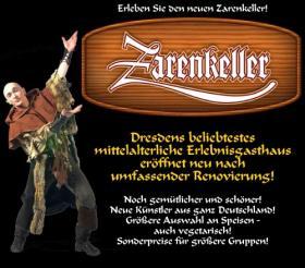 Mittelalterliche Tafelrunde im Zarenkeller Dresden
