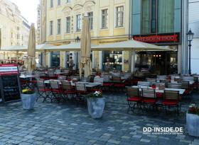 Frühstück in Dresden
